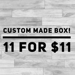 Other - Custom made box! 11 for $11